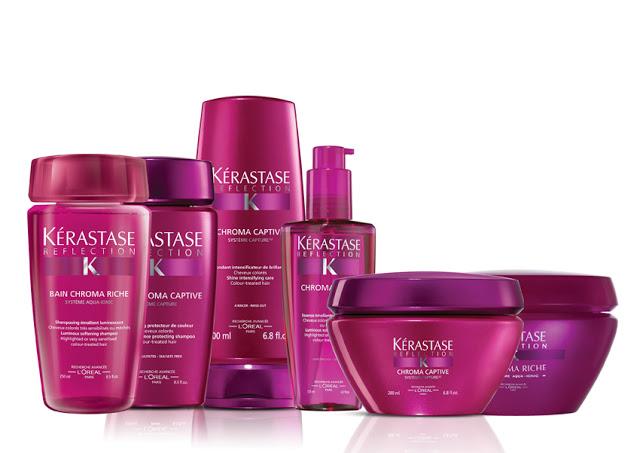 gama kerastase para cuidar el pelo teñido
