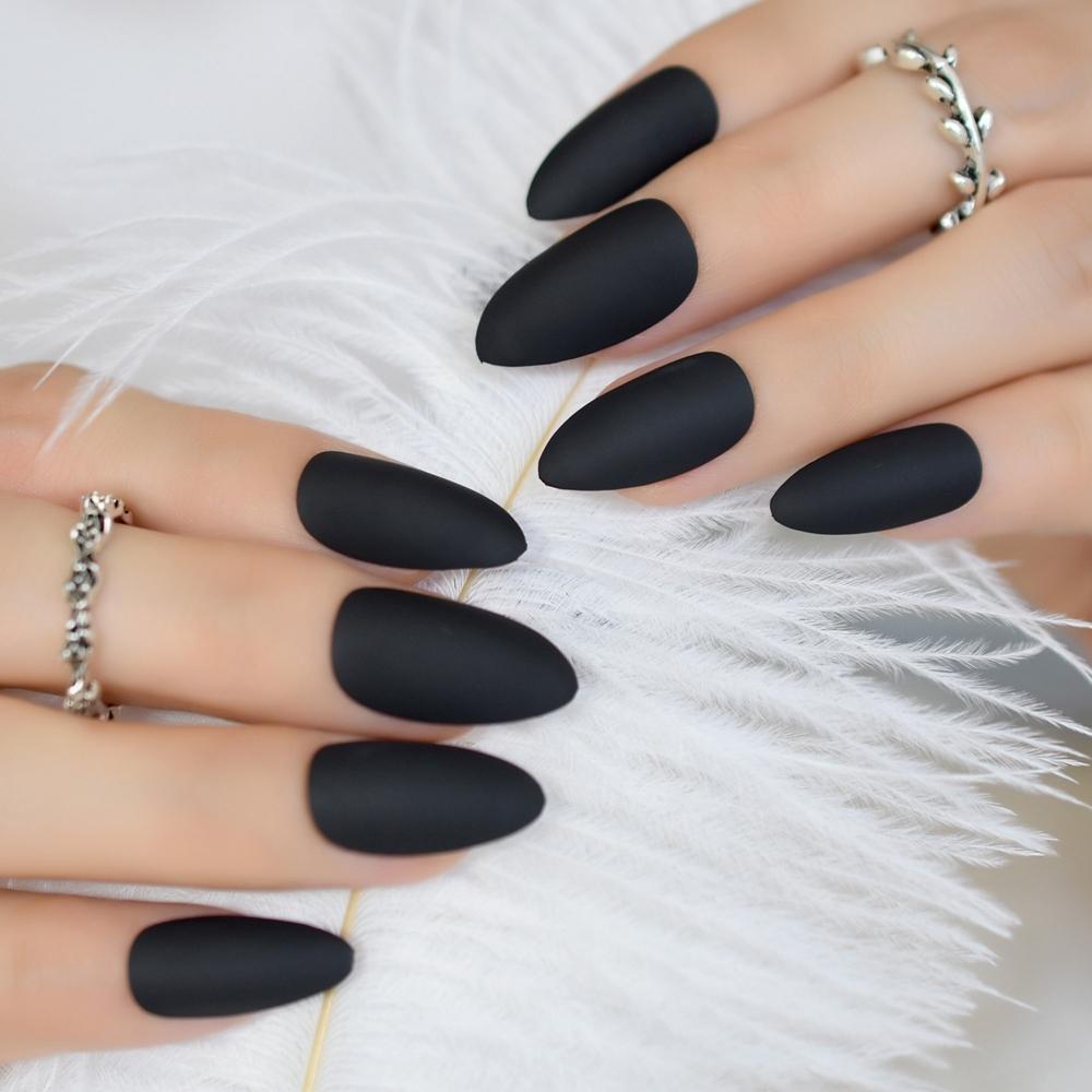 forma uñas almendra