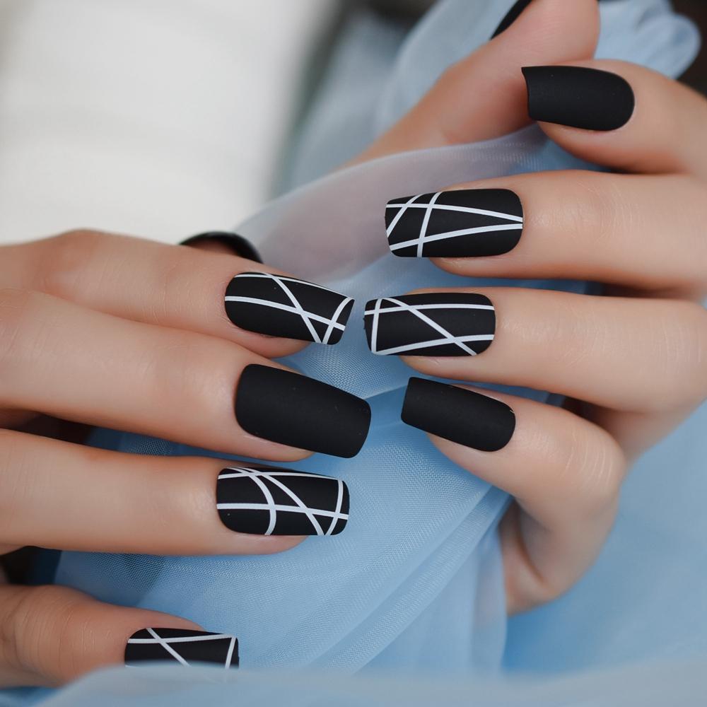 forma uñas manicura cuadradas