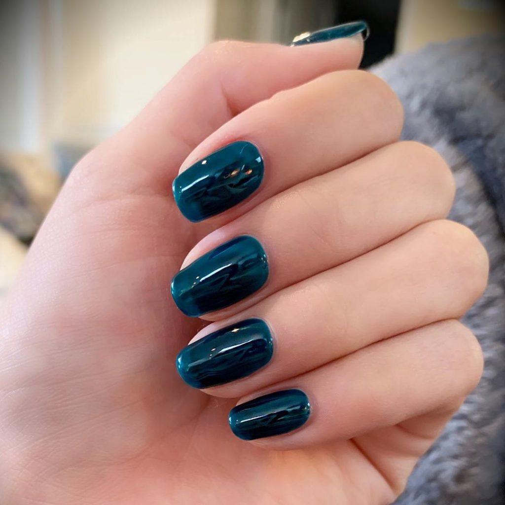 manicura forma uñas squoval