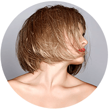 Brushing cabello corto, Champú kerastase y Styling