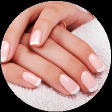 Relleno uñas de gel