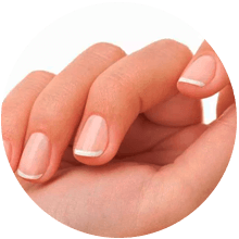 Uñas de gel (base natural)