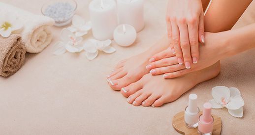 Manicure and pedicure Barcelona